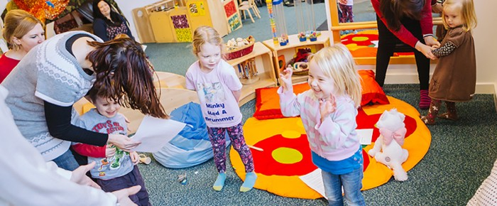 Let your Tot Manage Their Own Pace with Toddler Classes