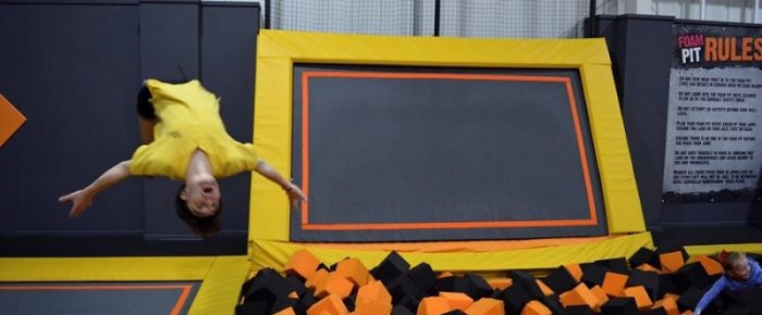 Give Your Kids Energetic Activities of Trampolining and Take Them Joyous