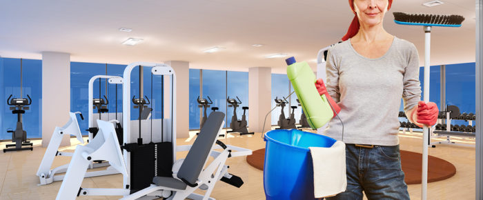 Cleaning And Disinfecting Fitness Equipment