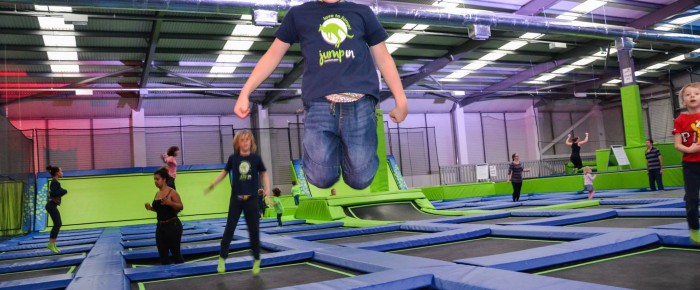 Go Trampolining and Get a Lot of Health Benefits