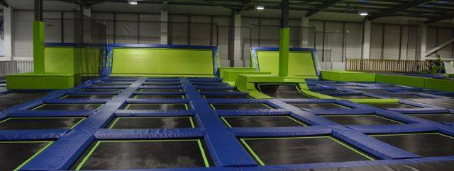 Give You Kids The Joys of a Trampoline Arena