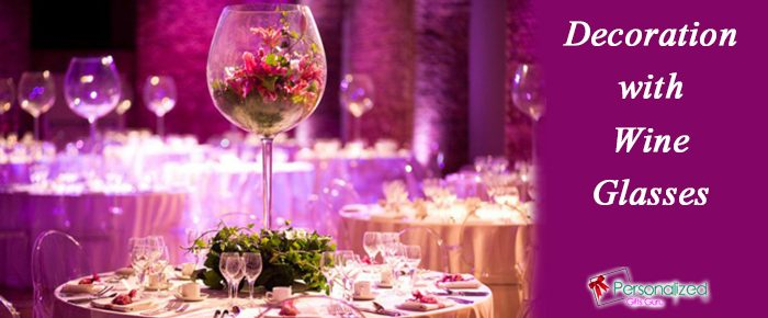 Nice-looking Way to Décor Party with Wine Glass