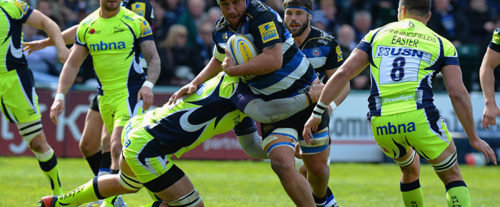 Sloppy Mistakes From Sale Sharks See Bath Cruise to Second Spot