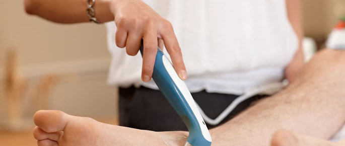 Physiotherapy With Therapeutic Ultrasound Treatment