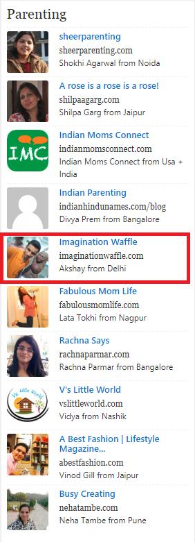 featured in Best Parenting blog