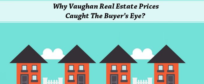 Why Vaughan Real Estate Prices Caught The Buyer's Eye?