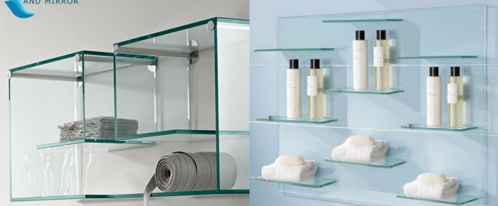 Unique Ways to Display Rectangle Glass Shelves in Home or Office for Style and Setting