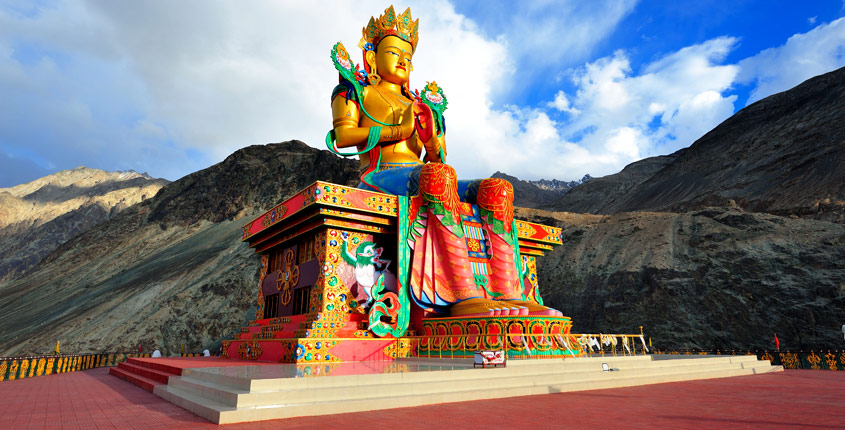 Statue of the Buddha, Nubra Valley Ladakh
